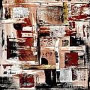 Abstract 524-11-13 Marucii Art Print