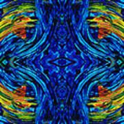 Abstract Art - Center Point - By Sharon Cummings Art Print