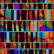 abstract - art- Color Pop  Art Print