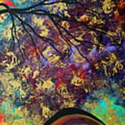 Abstract Art Original Landscape Painting Go Forth IIi By Madart Studios Art Print