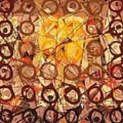 Abstract Art Sixty-six Art Print