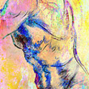 Abstract Bod 6 Art Print
