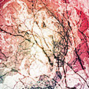 Abstract Branches Art Print