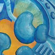 Abstract Color Study Art Print