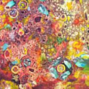 Abstract Colorama Art Print