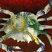 Abstract Crab Art Print