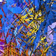 Abstract Curvy 11 Art Print