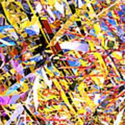Abstract Curvy 33 Art Print