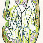 Abstract Drawing Forty-four Art Print