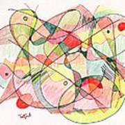 Abstract Drawing Twenty Art Print