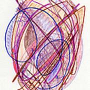 Abstract Drawing Twenty-two Art Print