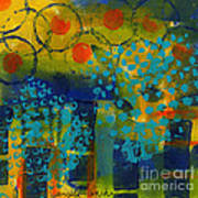 Abstract Expressions - Background Art Art Print