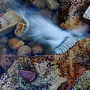 Abstract Falls Art Print