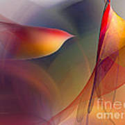 Abstract Fine Art Print Early In The Morning Art Print