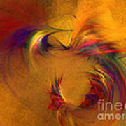Abstract Fine Art Print High Spirits Art Print