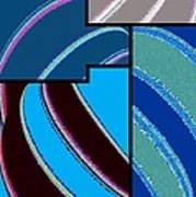 Abstract Fusion 143 Art Print