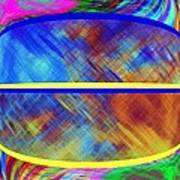 Abstract Fusion 173 Art Print
