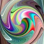 Abstract Fusion 241 Art Print