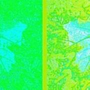 Abstract Fusion 249 Art Print
