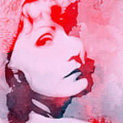 Abstract Garbo Art Print