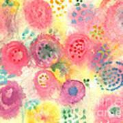 Abstract Garden #45 Art Print