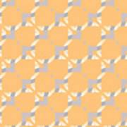 Abstract Geometric Pattern. Vector Art Print