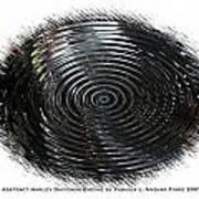Abstract Harley Davidson Engine Art Print
