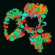 Abstract Iris Art Print by James Hammen