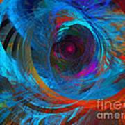 Abstract Jet Propeller Art Print