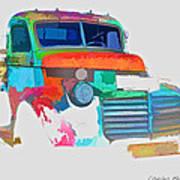 Abstract Jimmy Art Print