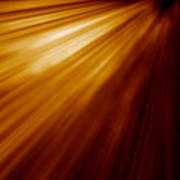 Abstract Night Acceleration Speed Motion  Art Print