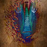Abstract Path Art Print