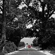 Abstract Road  Art Print