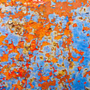 Abstract - Rust And Metal Series Art Print