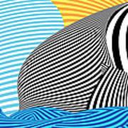 Abstract - Sailing Art Print