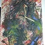 Abstract Smoker Art Print