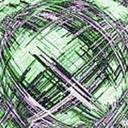 Abstract Spherical Design Art Print