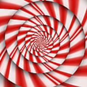 Abstract - Spirals - The Power Of Mint Art Print