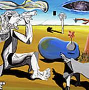 Abstract Surrealism Art Print