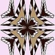 Abstract Symmetry-3 Art Print
