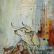 Abstract Tarot Art 017 Art Print