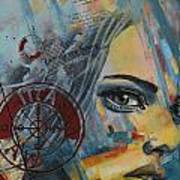 Abstract Tarot Art 022a Art Print