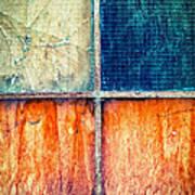 Abstract Window Art Print