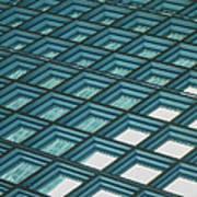 Abstract Windows Art Print