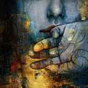 Abstract Woman 011 Art Print