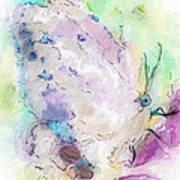 Abstracted Butterfly Art Print by Jill Balsam