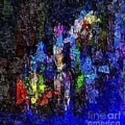 Abstraction 0375 - Marucii Art Print