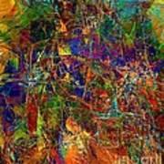 Abstraction 0380 Marucii Art Print