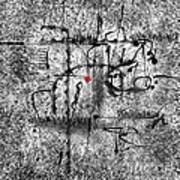 Abstraction 0416 Marucii Art Print