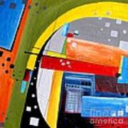 Abstraction 0468 Marucii Art Print